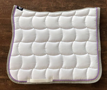 White & Lilac Quarzo Dressage Square