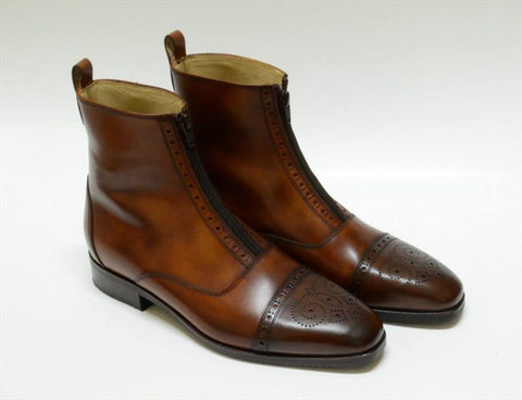 1 Zip & Brogue Antique