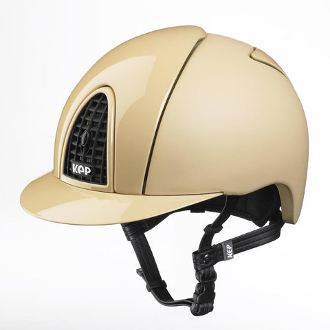 Cromo Beige Textile with a Polish front & Visor