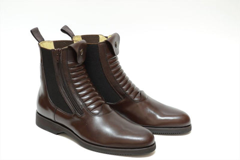 Secchiari Hera Brown Short Riding Boots