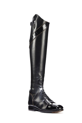 Derby Stripe Riding Boots