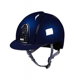 Cromo Metallic Blue Helmet