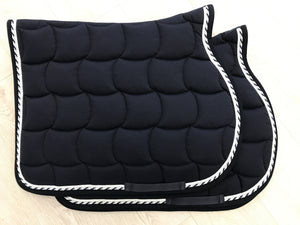2 Navy Saddle Pads