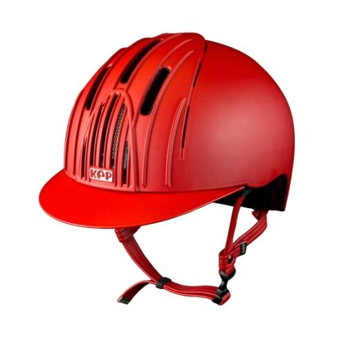 Cromo Endurance Riding Helmet Red