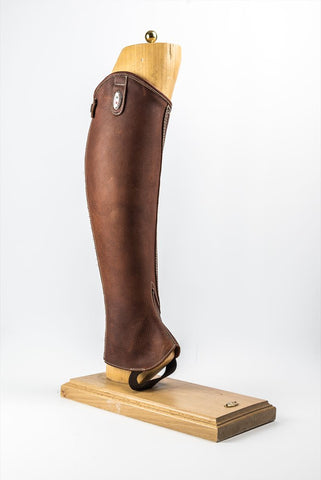Rustic Cotto grainy Leather Chaps