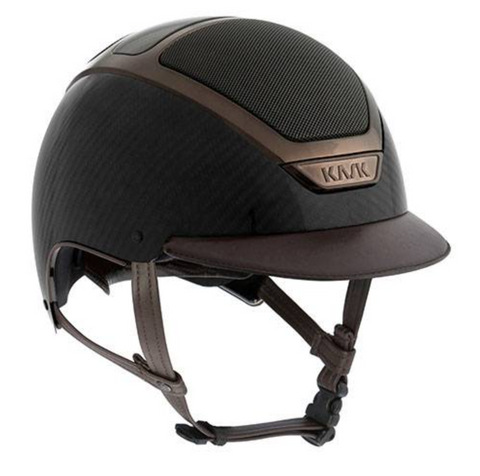 KASK HELMET - DOGMA CARBON LIGHT SHINE - Dark Brown