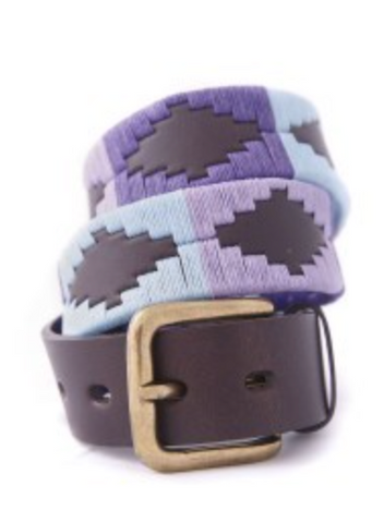 Traditional Argentine Polo Belt - Heather