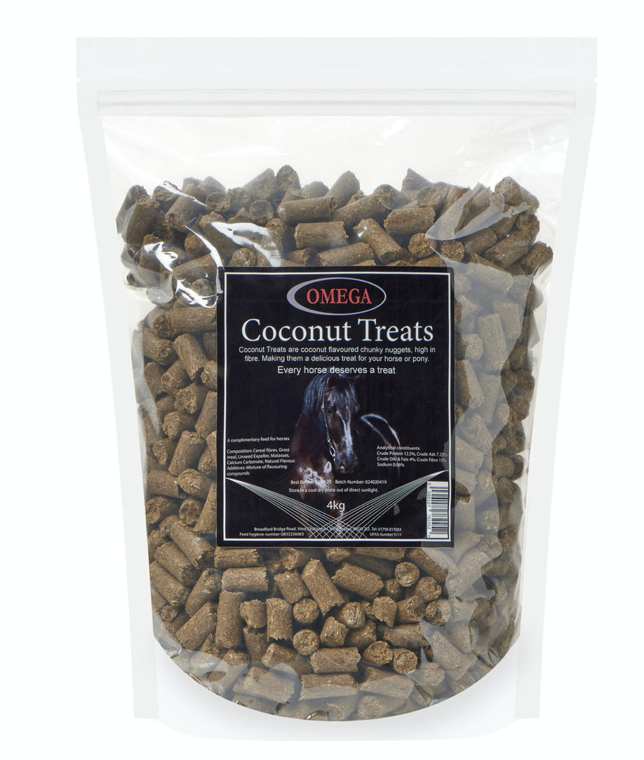 Omega Equine Coconut Treats