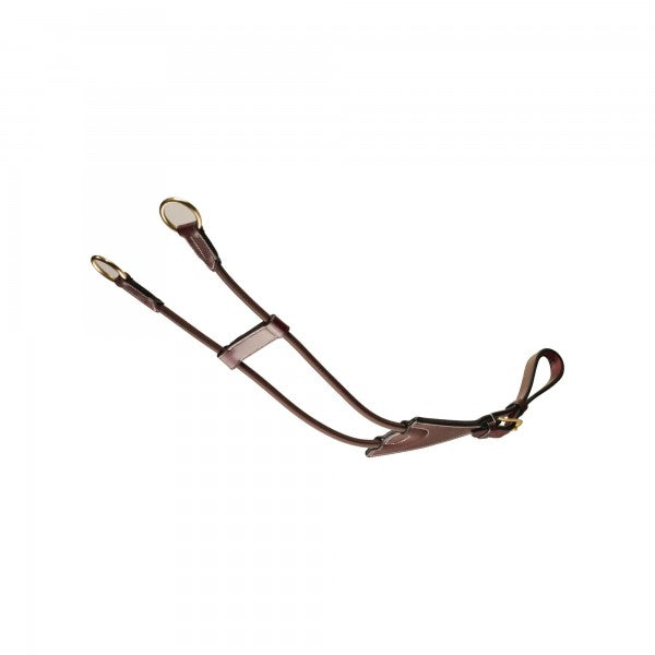 Leather and Rolled Elastic Martingale Attachment