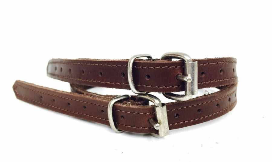 Chestnut Brown Spur Straps