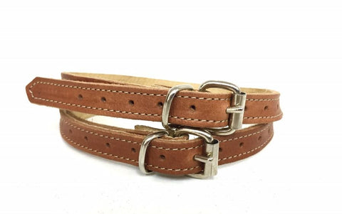 Tan Cotto Spur Straps