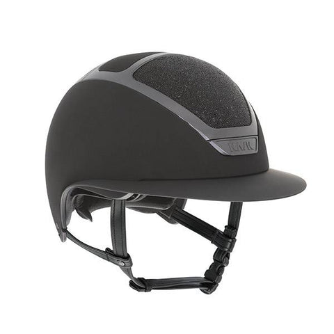 KASK HELMET STAR LADY BLACK MIDNIGHT SWAROVSKI CRYSTAL
