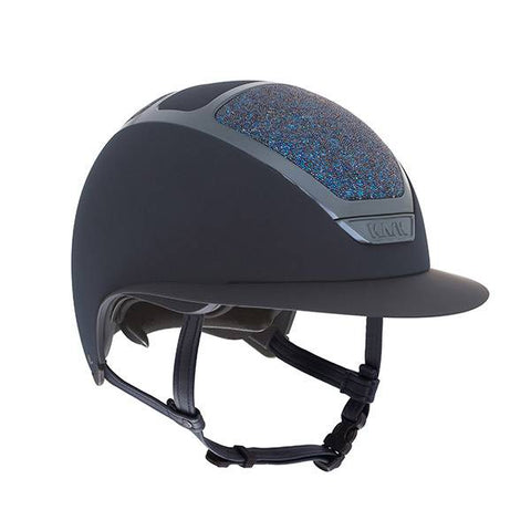 KASK HELMET STAR LADY NAVY MIDNIGHT SWAROVSKI CRYSTAL