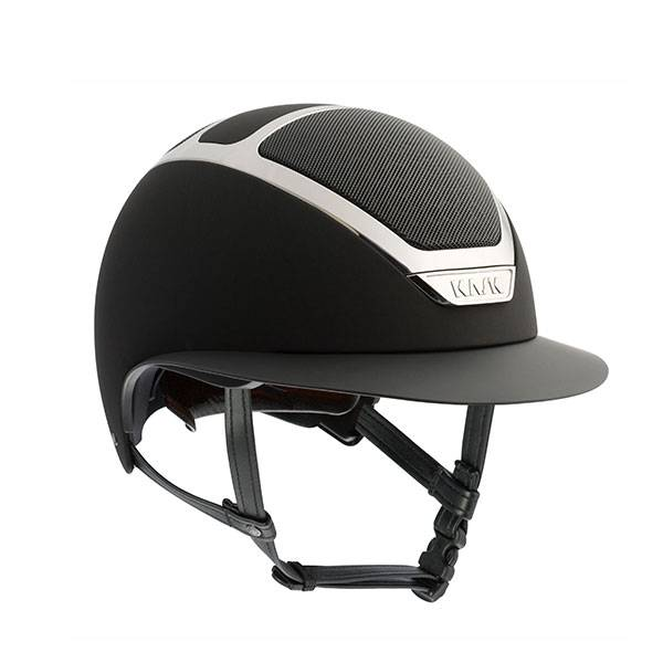 KASK HELMET STAR LADY BLACK SILVER