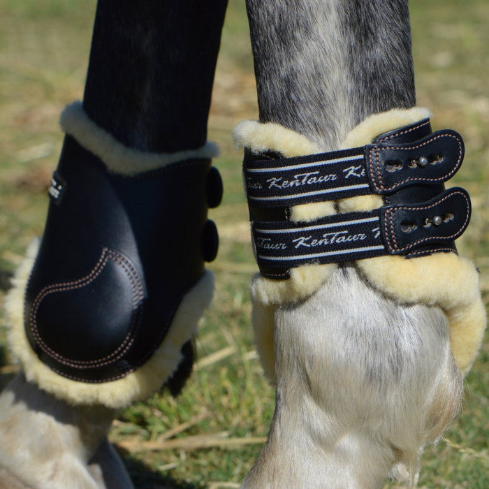 Kentaur Roma Fetlock Boots with Detachable Sheepskin 4251