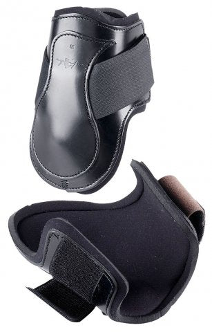 FETLOCK BOOT LEATHER LINED VELCRO