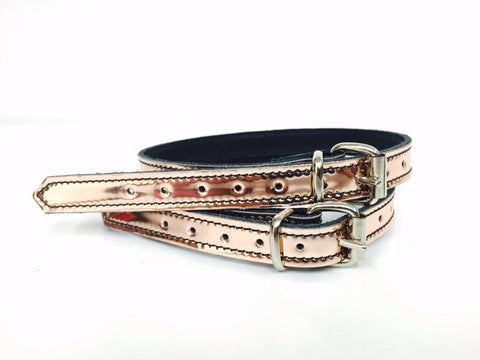 Rose Gold spur straps