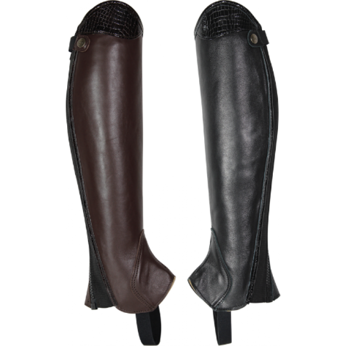 Kentaur Sophia Leather Half Chaps 3036