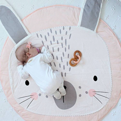Cute Bunny Rabbit Baby Mat