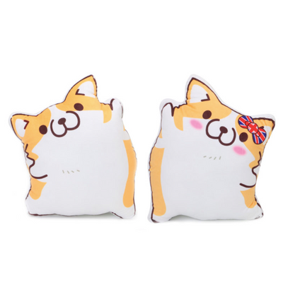 Kawaii Corgi Dog Plush Cushions