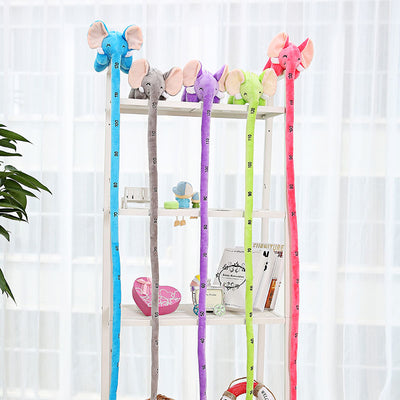 Long Nose Elephant Height Measuring Plush Toy