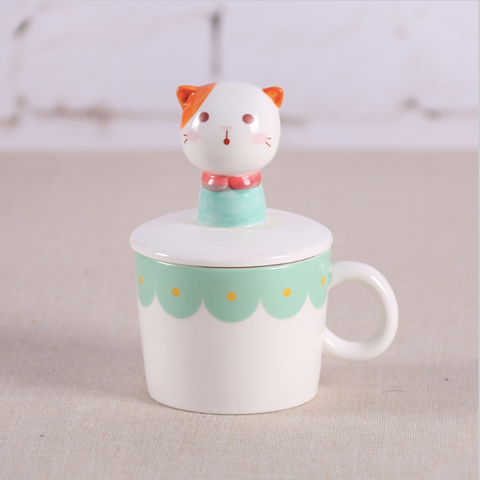 Kawaii Porcelein Animal Tea/Coffee Tea Set