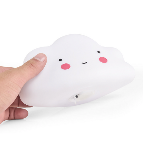 Cute Smiley Cloud LED Night Light