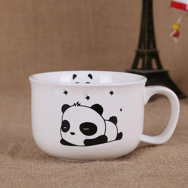 Kawaii Panda Ceramic Mugs