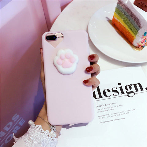 Kawaii 3D Squishy Mobile Phone Cases