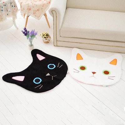 Kawaii Cat Face Mat/Rug