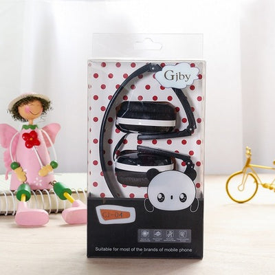 Kawaii Macaroon Foldable Headphones