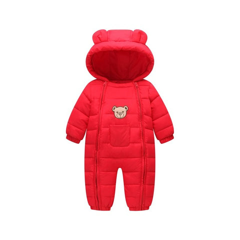 Kawaii Padded Winter Baby Romper Suit