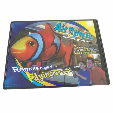 Air Swimming/Flying Remote Control Clown Fish Balloon
