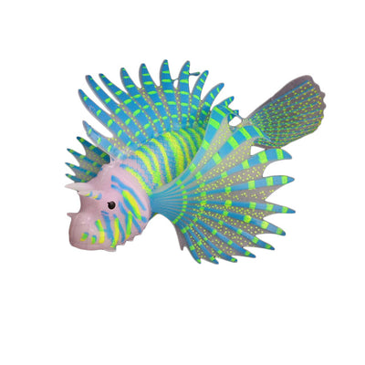 Glow-in-the-Dark Fluorescent Lion Fish