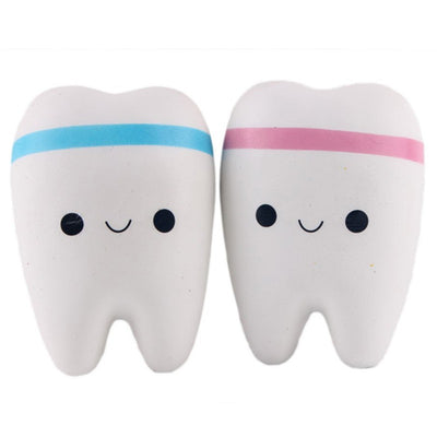 Kawaii Jumbo Tooth Squishy