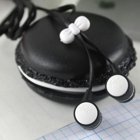 Cute Macaroon In-Ear Headphones