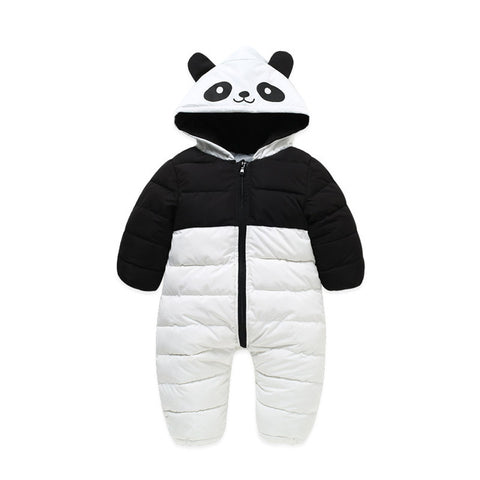 Cute Panda Winter Outdoor Romper Suit