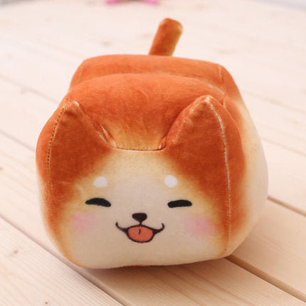 Kawaii Shiba Dog Bread Plush Toy