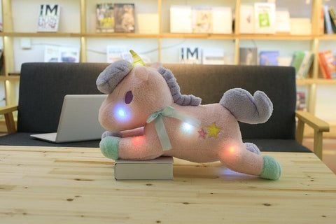 Luminous LED Unicorn Plush Toy