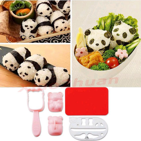 Panda Shape Sushi Mould
