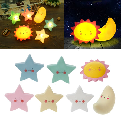 Sun/Moon/Star LED Night Light
