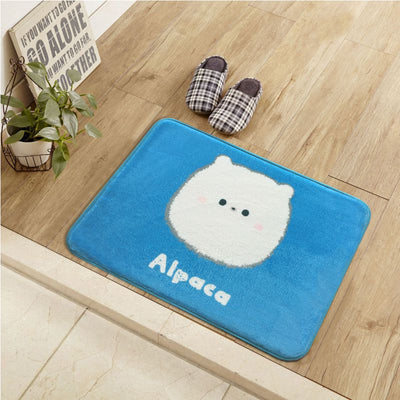 Cartoon Alpaca Korean Style Mat