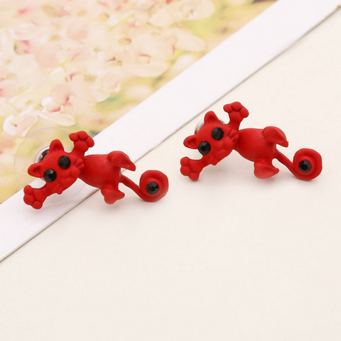 Kawaii Kitty Cat Stud Earrings
