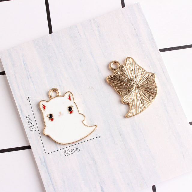 Kawaii Cat Bracelet Charms