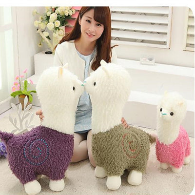 Alpaca Plush Toy - medium and large