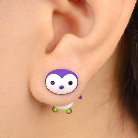 Cute Penguin Harajuku 3D Stud Earrings