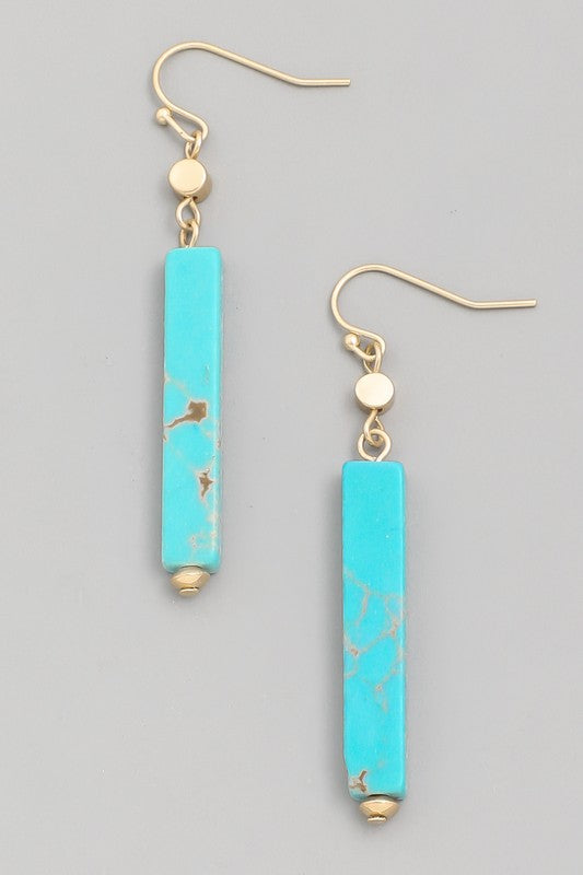Leni Bar Drop Earrings