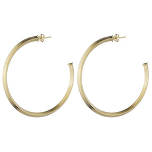 Sheila Fajl - Celine Hoop Earrings 2""