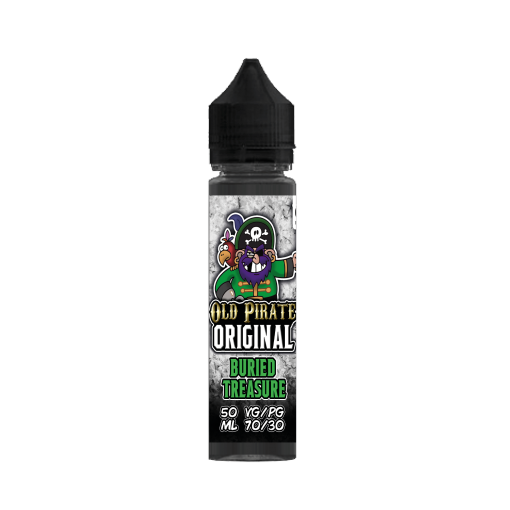 Buried Treasure E Liquid by Old Pirate 60ml