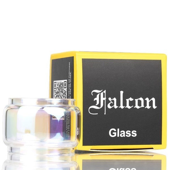 Horizontech Falcon Bubble Glass. this is a replacement Pyrex glass that is used to increase the capacity of the Horizontech Falcon Tanks. Increase the capacity of your tank to 7ml. Can used with standard Falcon tanks, Resin Falcon Tanks, Artisan Falcon Tanks, and with the Falcon King Tanks. This Glass will not fit the Falcon mini tanks.